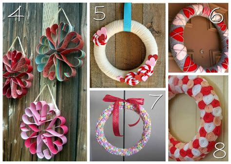 Diy Valentines Wreaths For Your Front Door Affordable Dining Room Sets Diy Bedroom Decorating Ideas For Teens Modern Living Exterior Home Painting New Bathroom Designs Decor Depot Steel Doors Small Spaces