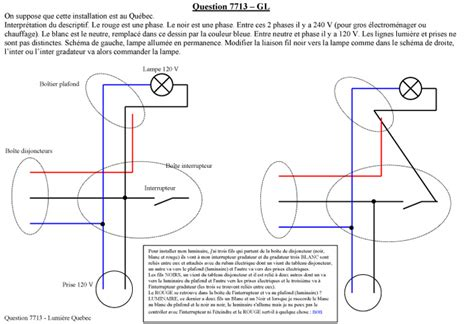 conseil branchement pour installation luminaire comment brancher les fils qui partent du disjoncteur