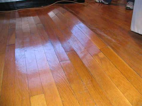 buckled wood floor solutions