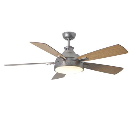 shop allen roth kellerton 52 in burnished copper indoor downrod mount ceiling fan standard