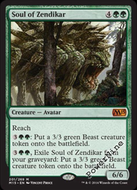 4 soul of zendikar green magic 2015 m15 mtg magic mythic