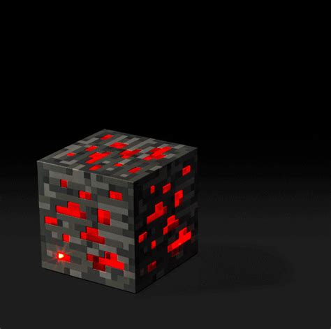 minecraft light up redstone ore eclectic table ls