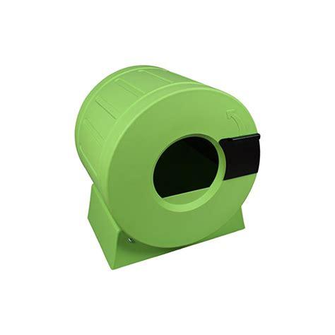 roto bv litter spinner maison de toilette auto nettoyante pour chat vert myfunkypets