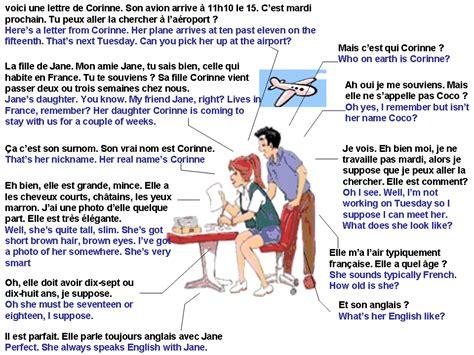 dialogue une visite de l 233 tranger anglais