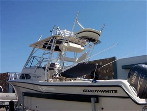 Boat Tower Control Station by Tuna Towers Fishing Boats Unlimited