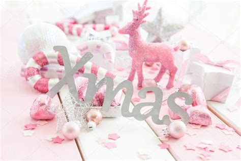 Candy Cane Decorations by Pink Christmas Decorations Stock Photo 169 Barbaraneveu