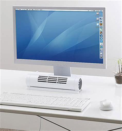 bladeless horizontal vertical desk fan the green