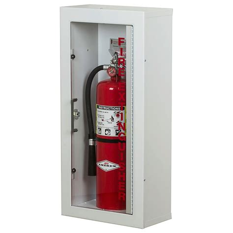 larsen gemini series surface mounted extinguisher cabinet