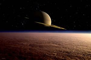 Titan – Saturn's moon, satellite, 2nd largest moon ...
