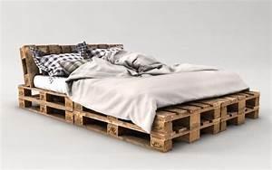 Palettenbett Selber Bauen : palettenbett bauen ganz einfach hier 2 praktische varianten ~ Markanthonyermac.com Haus und Dekorationen