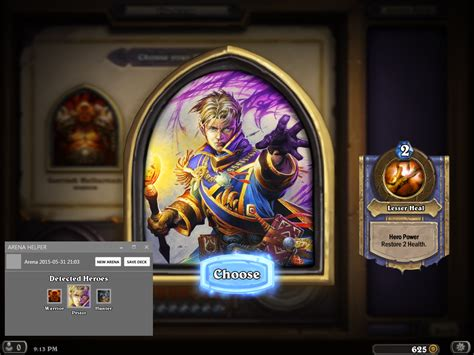 github corlettb arena helper a plugin for hearthstone deck tracker that helps drafting