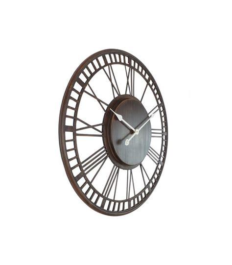 horloge murale 224 l ancienne en fer forg 233 noir