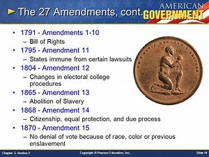 Chapter 3: The Constitution Section 2 - ppt video online ...