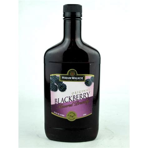 Hiram Walker Blackberry Brandy   Liquor Mart Boulder CO