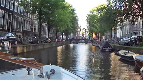 Boat Tour Youtube by Amsterdam Canal Boat Tour Youtube