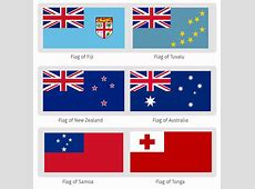 Oceania Flags in the Symbolism of the Island Nations • The