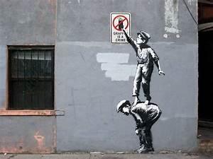Graffiti Artist Banksy Has Popped Up In New York City ...