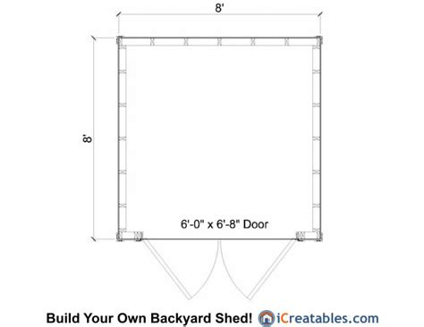 8x8 lean to shed plans storage shed plans icreatables