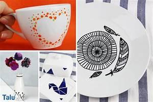 Porzellan Und Keramik : porzellan keramik bemalen anleitung und sch ne ideen ~ Markanthonyermac.com Haus und Dekorationen