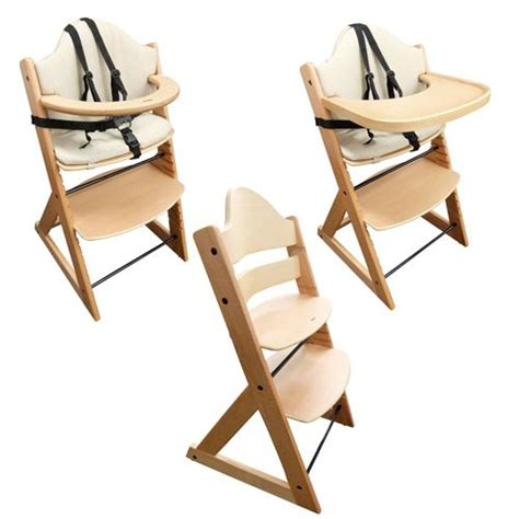 stokke like highchair baby high chair superior 3in1 wooden highchair with tray and bar beech