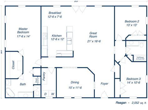40x60 metal building house plans studio design
