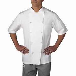 Lightweight Cotton Short Sleeve Chef Coat (5551) | Chefwear