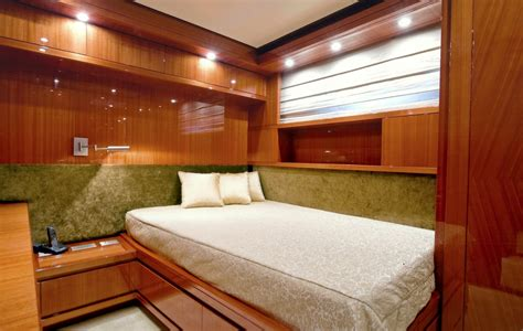 Boat Bed Double by San Lorenzo Yacht Gps Twin Cabin With Double Bed