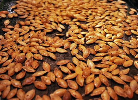 28 are baked pumpkin seeds fattening clean