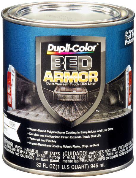 Duplicolor Bed Armor by Dupli Color Bed Armor Truck Bed Liner Quart Dupbaq2010