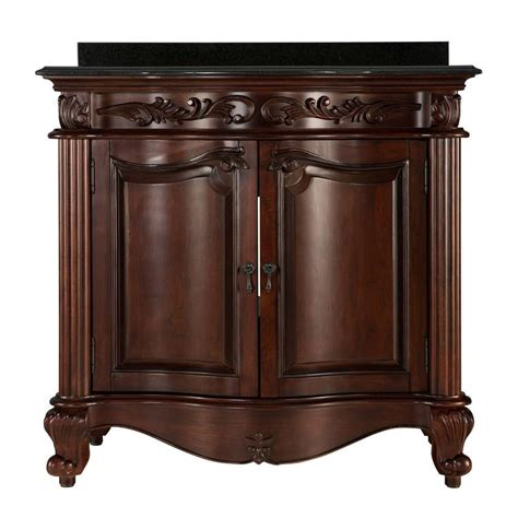 Foremost Estates 36inch W Vanity Combo in Rich Mahogany