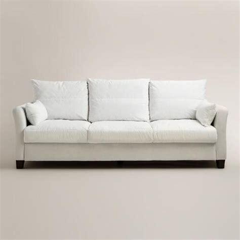 luxe 3 seat sofa frame world market