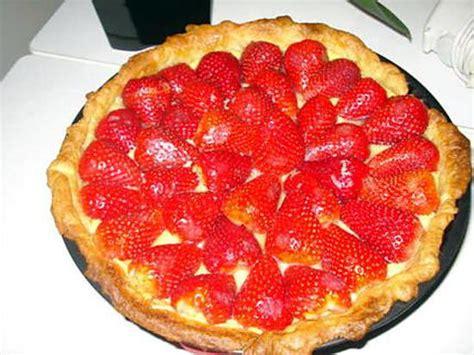 recette de tarte aux fraises par carvalho