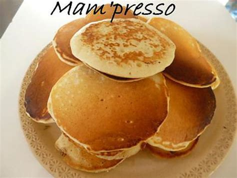 recette de minis pancakes sans oeufs