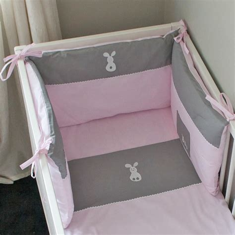 tour de lit fille lapinou accessoire lit b 233 b 233 pony design gigoteuse