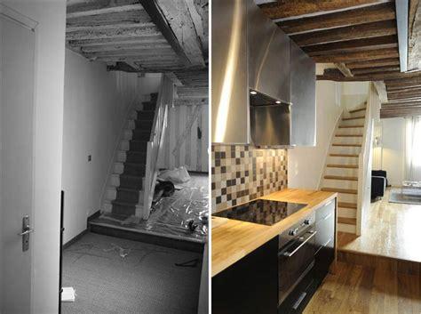 r 233 novation d un appartement 3 pi 232 ces en duplex 224 nantes