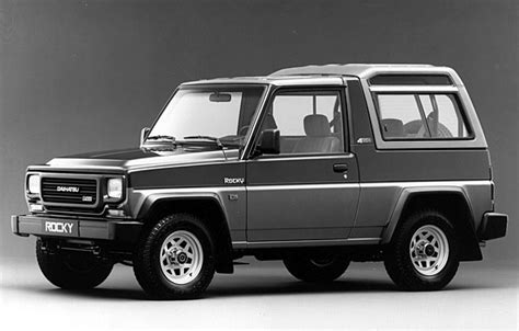 Daihatsu Rocky Wagon Dx Turbo Diesel 1988