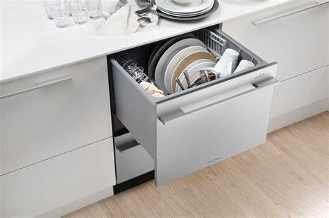 Fisher Paykel Dishdrawer Dd24dctx6v2 Semi-integrated Double Drawer Dishwasher, Tall Tub