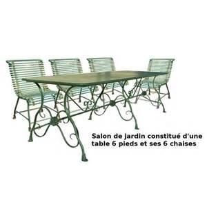 salon de jardin fer forge castorama qaland