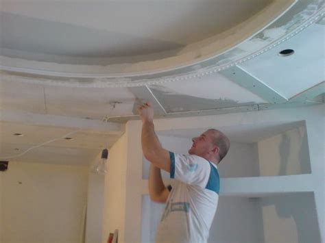 pose faux plafond placo sur hourdis 224 valence peindre