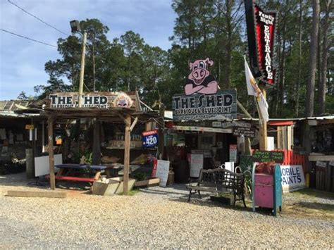 the entrance picture of the shed gulfport tripadvisor
