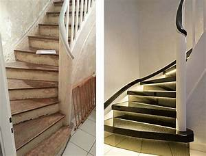Holz Treppenstufen Erneuern : 28 besten treppenrenovierung holztreppe steintreppe fliesentreppe bilder auf pinterest ~ Markanthonyermac.com Haus und Dekorationen