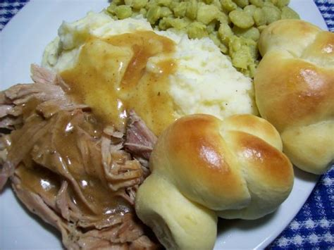 crock pot roast pork recipe food