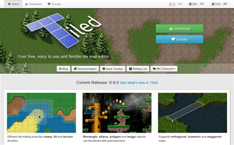 tiled map editor new tiled website launched