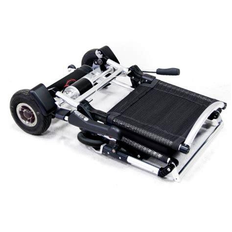 fauteuil roulant 233 lectrique pliable et l 233 ger le zinger hyseco mobility
