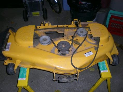 cub cadet mower deck