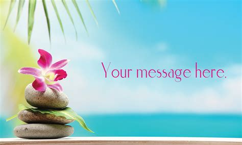 Orchid Spa And Massage Business Card
