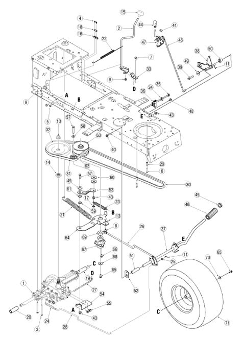 troy bilt bronco deck belt diagram troy free