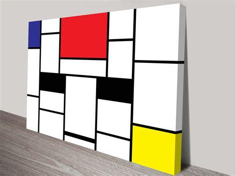 Piet Mondrian by Piet Mondrian Wall Art Prints On Canvas Modern Art
