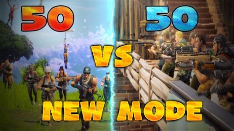 *new* Fortnite 50 Vs 50 Game Mode Best Moments  Fortnite