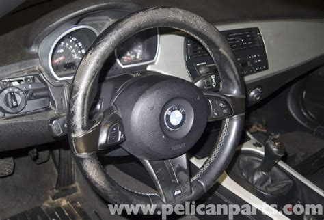 Bmw Z4-m Steering Wheel & Driver Airbag Replacement